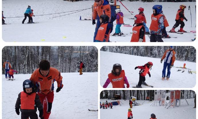 Vrtić Frfi Sljeme Skijanje