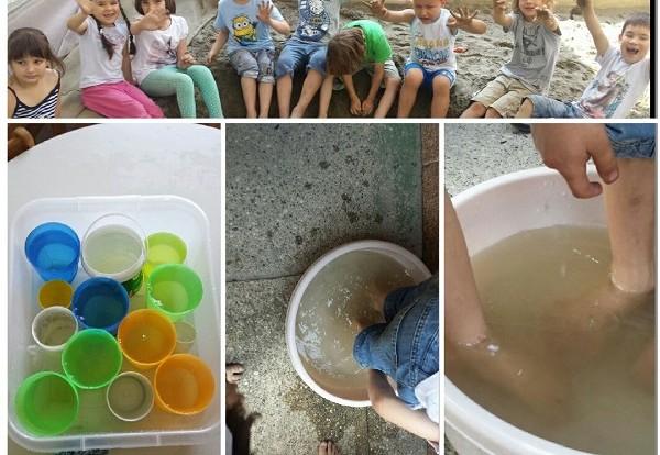Dječji Vrtić FrFi Istraživanje vode i pijeska