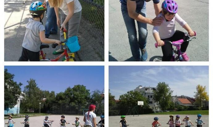 Biciklijada - ogledni sat
