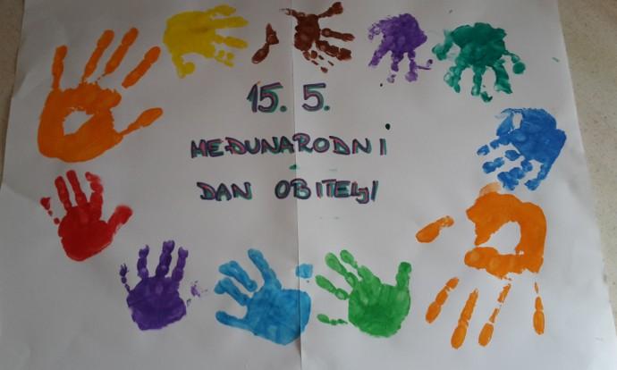 Zajednički rad djece i odgajateljica skupina Bubamare i Leptirići povodom Međunarodnog dana obitelji