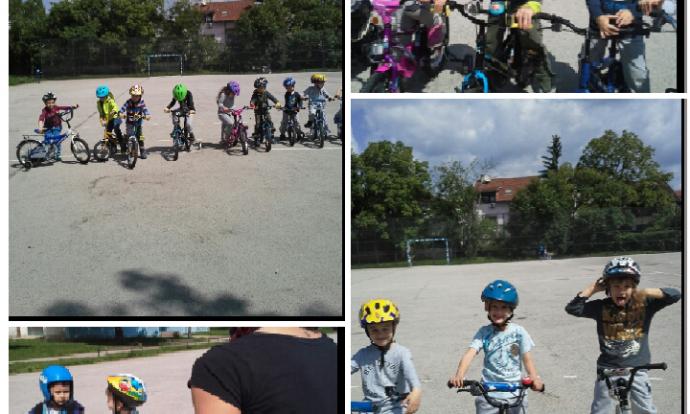 Ribice i Zečići na biciklijadi