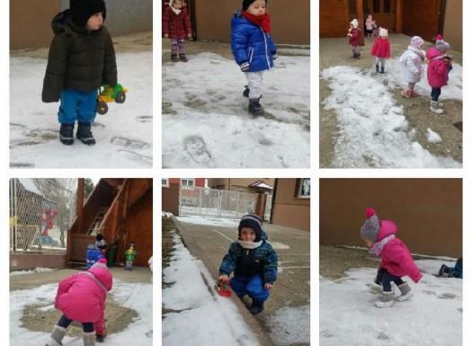 Zimske radosti u jaslicama - boravak na zraku
