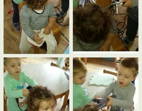 Zečići u kutiću frizera, simbolička igra, spoznajni i socio-emocionalni razvoj