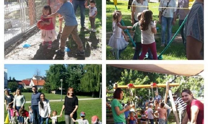 Ribice i Leptirići - druženje s roditeljima i opraštanje s našim predškolcima