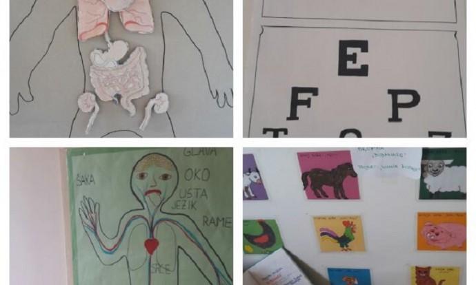 Izložba mini projekata u jaslicama - Liječnik i Životinje