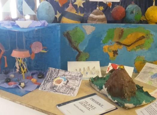 Ribice i Leptirići - izložba projekata kroz pedagošku godinu