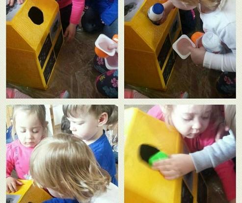 Zečići - sortiranje otpada, osvještavanje o važnosti brige za okoliš, razvoj spoznaje