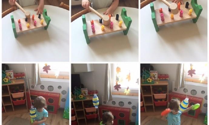 Bubamare - stolno-manipulativne igre, nabadalice i potezalice, razvoj motorike i suradničkog učenja