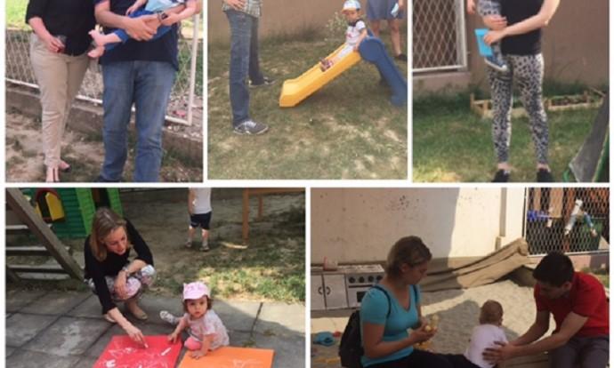 Druženje roditelja i djece skupine Bubamare, piknik u parku