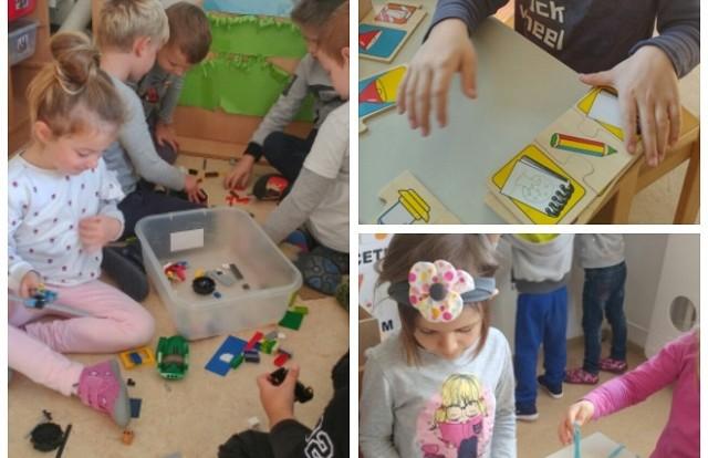 Ribice - aktivnosti građenja, početnog pisanja, razvoj spoznaje, suradničko učenje