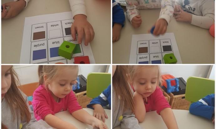 Leptirići - Colors, rano učenje engleskog jezika kroz svakodnevne aktivnosti, razvoj spoznaje i zapažanja