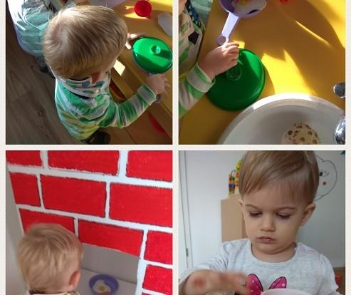 Bubamare - imitativna igra restorana u centru kuhinje, razvoj govora, kreativnosti i suradnje