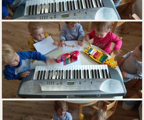 Bubamare - istraživanje i raspoznavanje instrumenata u glazbenom centru, razvoj slušne percepcije, spoznaje i osjećaja za glazbu