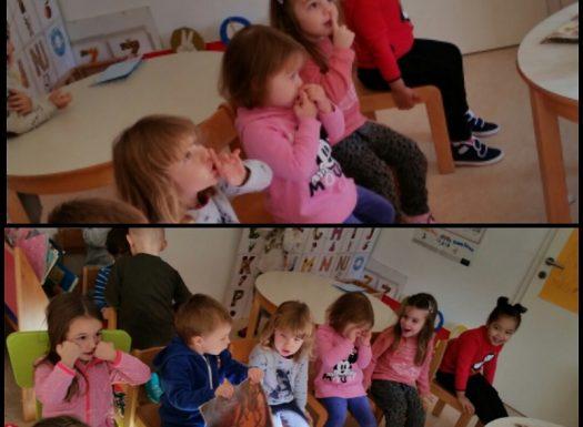 Leptirići - spoznajna aktivnost pozornosti i aktivnog učenja kroz igru, učenje ranog engleskog jezika