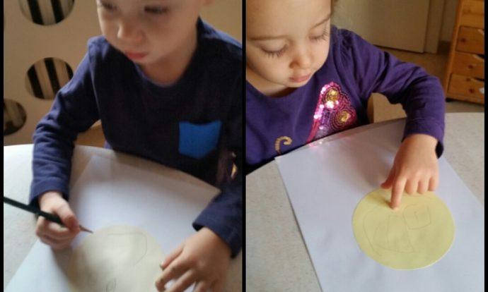 Leptirići - likovna aktivnost crtanja emocionalnog stanja - Kako se osjećaš danas,obilježavanje Međunarodnog dana dječjih prava