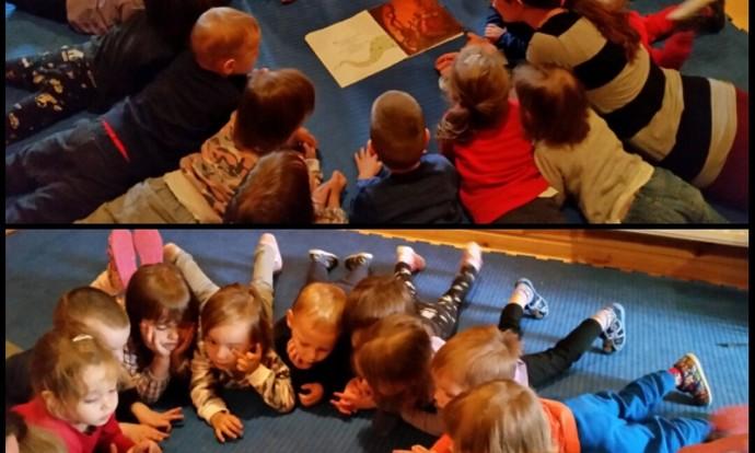 Leptirići - čitanje slikovnice Juha od bundeve, razvoj koncentracije, bogaćenje rječnika