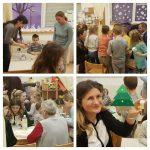 Ribice - kreativna božićna radionica s djecom i roditeljima, izrada božićnih ukrasa, suradnja s roditeljima i druženje