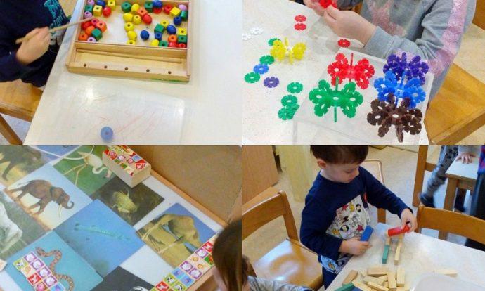 Ribice - igre u mirnom kutiću, razvijanje pamćenja, strpljenja i preciznosti