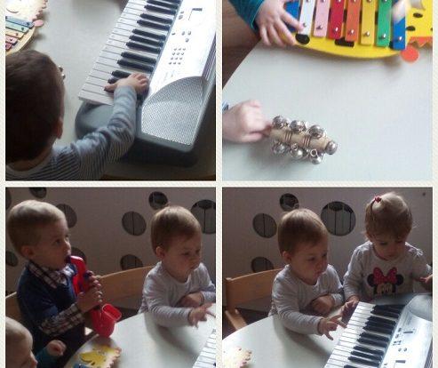 Bubamare - sviranje u glazbenom centru, razvoj slušne percepcije, stvaralaštva i spoznaje