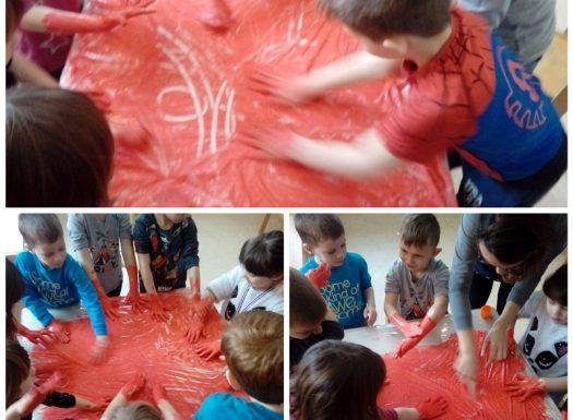 Ribice - upoznavanje s vulkanom, pokus erupcije, učenje novih pojmova