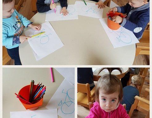 Bubamare - likovna aktivnost potaknuta čitanjem slikovnice - Dječak koji zna sve, razvoj spoznaje, uočavanja detalja, kreativnosti i koncentracije