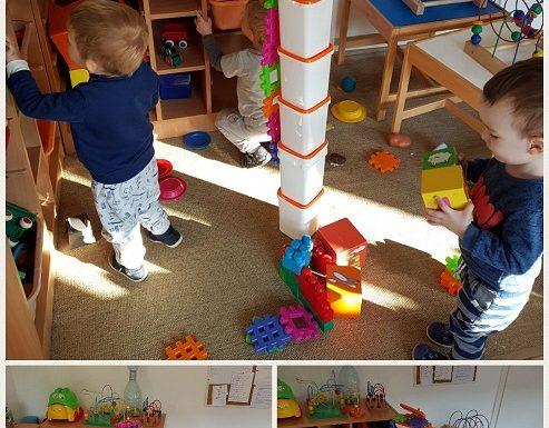 Bubamare - istraživanje visina u građevinskom centru, razvoj preciznosti, fine motorike i suradničkog učenja
