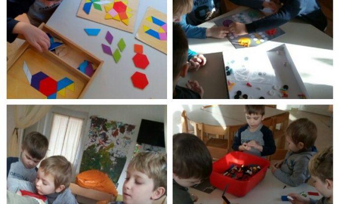 Ribice - projekt Lego kocke, građenje zajedničkog tornja, suradničko učenje, pomaganje i poticanje ugodne atmosfere