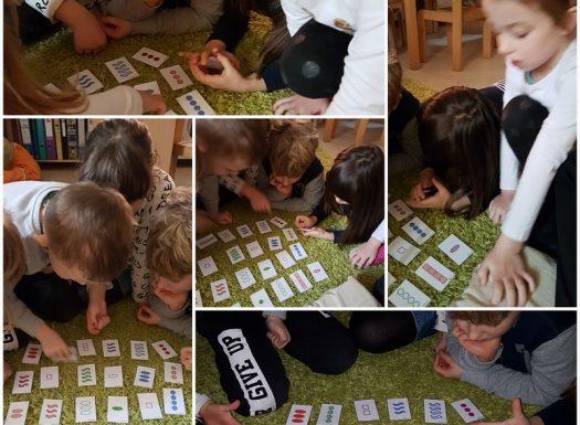 Frfići - mozgalići - igra zapažanja, koncentracije i logike, set karte, pronalaženje seta od tri jednaka ili različita svojstva