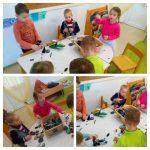 Ribice - projekt Lego kocke, izrada Lego-grada, razvoj fine motorike, preciznosti i mašte