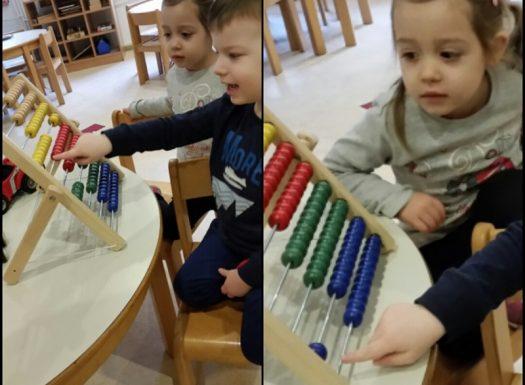 Leptirići - poticanje ranog razvoja matematičkih predodžbi, brojanje do 10, suradničko učenje