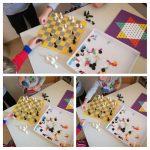 Ribice - društvena igra šah, poticanje na logičko razmišljanje, razvoj strpljenja, poštivanje pravila