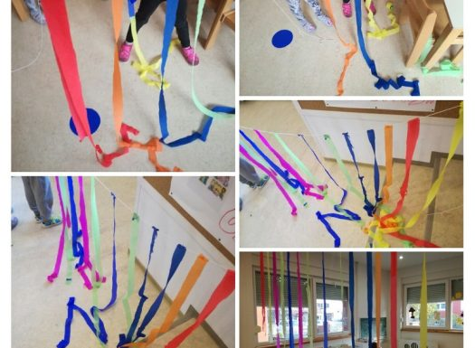 Ribice - istraživanje boja i teksture materijala, zajedničko uređivanje sobe