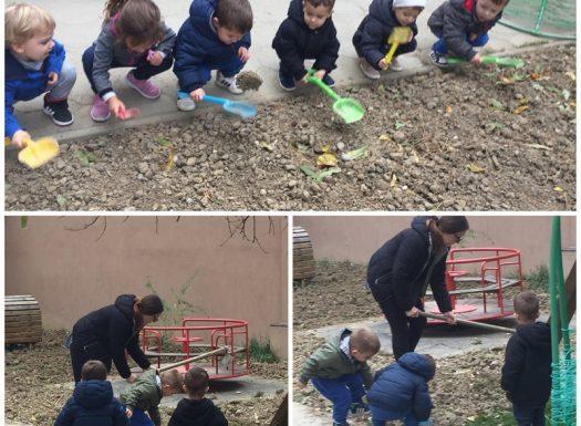 Leptirići - projekt - Održavanje travnjaka u sklopu programa za održivi razvoj, etapa 3 - usitnjavanje zemlje