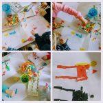 Ribice - likovna aktivnost, Kako zamišljam sv. Nikolu, crtanje i lijepljenje kolaž papira po uzorku, razvoj preciznosti i kreativnosti