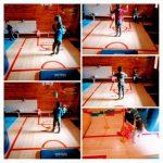 Ribice - tjelesna aktivnost u dvorani, poligon s preprekama, poticanje koordinacije pokreta i ravnoteže u kretanju unazad