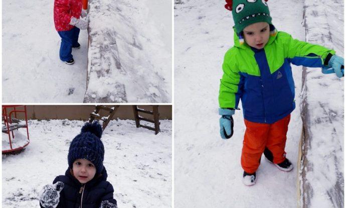 Leptirići - boravak na zraku, igre na snijegu, razvoj motorike cijelog tijela, poticanje na stjecanje iskustva dodirom