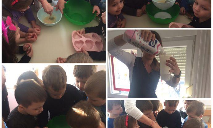 Leptirići - zajednička aktivnost izrade vlastitog sapuna, razvoj spoznaje i poticanje na suradnju među djecom