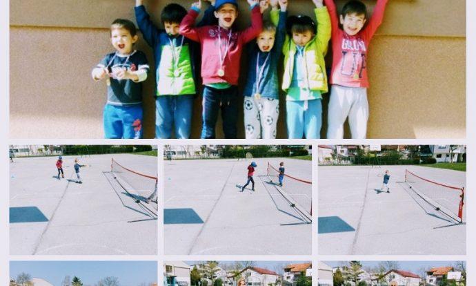 Ribice i Leptirići - školica tenisa, ogledna aktivnost s roditeljima