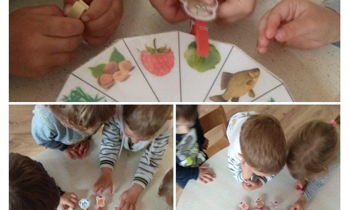 Zečići - spajanje životinje i namirnice, poticaj razvoja spoznaje, koncentracije i suradničkog učenja