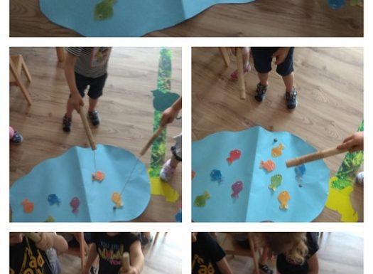 Zečići - Simbolička igra ribolova, poticaj razvoja fine motorike i preciznosti