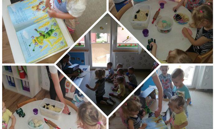 Zečići i Bubamare - zajedničke aktivnosti, tema Mravi