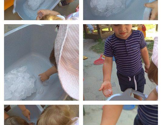 Zečići i Bubamare - zajednička istraživačka aktivnost s ledom