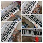 Ribice - Glazbene aktivnosti, sviranje do,re,mi.. glazbeno-tjelesna aktivnost, guess a tone, razvoj slušne percepcije uz kretanje po zvuku