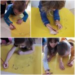 Ribice - Obilježavanje dječjeg tjedna kroz razgovor u krugu i likovnu aktivnost, razvoj spoznaje o važnosti zajedničkih aktivnosti s djecom