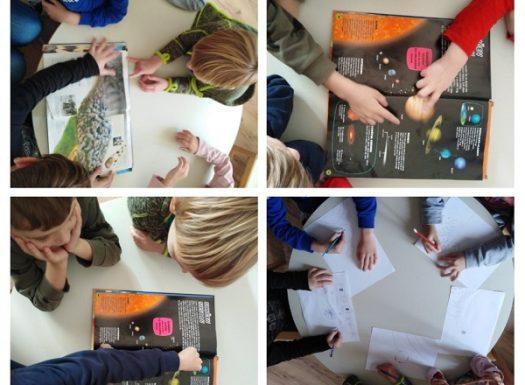 Frfići mozgalići - uvod u temu Svemir, upoznavanje djece s tim što okružuje naš planet i sa znanosti koja proučava Svemir