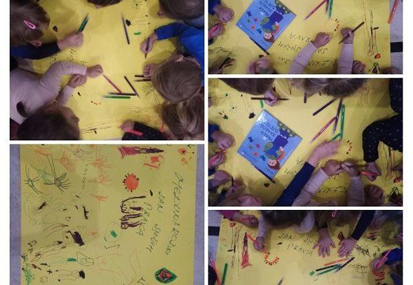 Leptirići - obilježavanje Međunarodnog dana dječjih prava, čitamo slikovnicu te razgovaramo na temu