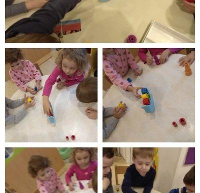 Leptirići - zajednička igra slaganja dupina, poticaj razvoja preciznosti, zajedništva i koncentracije