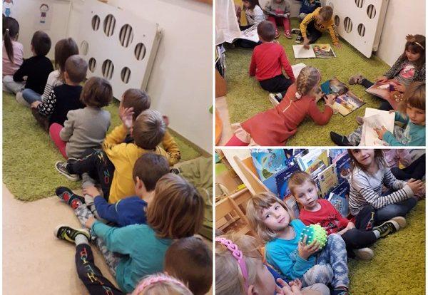 Ribice - jezične i jezično-taktilne igre, proširivanje vokabulara i poticanje predčitalačkih vještina kroz igru