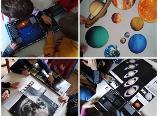 Frfići mozgalići - proučavanje mjeseca, sunčevog sustava i zvijezda, rasprava o postojanju životu izvan Zemlje, poticanje razvoja kritičkog mišljenja