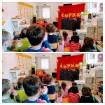 Ribice i Leptirići - Klaun Čupko, božićna predstava Mama, tata i ja, poklon vrtića djeci za Božić